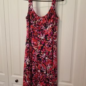 London Times pink floral dress size 10